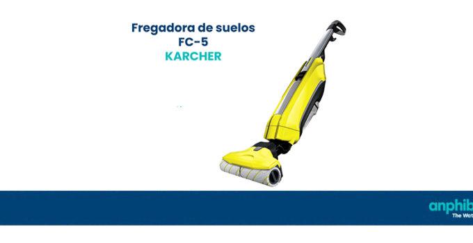Fregadora barredora Karcher